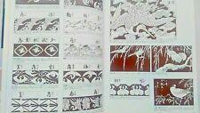 Japanese Edo Pattern Design Book Reference Flash Tattoo Irezumi Tebori Art MZ