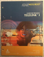 1981 Atari 400/800 Computer Program Telelink I Manual Instruction Guide C014189