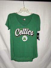 Boston Celtics, Women's Tshirt Size S, Brand NWT, Green