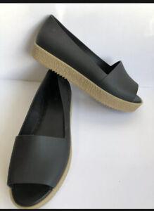 MELISSA Womens Designer Rubber FLAT Shoes Size US 10 Eu 41/42 FAST POST AU