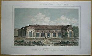 1848 print NAPOLEON'S RESIDENCE, LONGWOOD HOUSE, SAINT HELENA (#19)