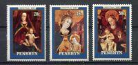 25277) Penhryn 1980 MNH New Christmas Natale 3v