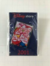 The Seven Dwarfs Disney Store Pin - Mint, Unopened Condition - 2001