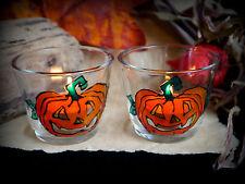 Halloween ZUCCA Bicchiere Portacandele Altare Wicca Pagan Strega Samhain Autunno