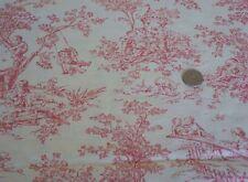 Oop P Kaufmann Central Park Decor Cherub Nursery Fabric Raspberry Popular Bthy