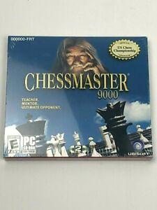 Brand New & Sealed Chessmaster 9000 for PC / Ubisoft