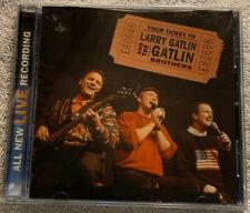 Gatlin Brothers Your Ticket To Larry Gatlin And Gatlin Brothers Live CD  Sealed