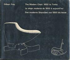 Modern Chair 1850 to Today Gilbert Frey Mid-Century Modern Furniture Design Vtg