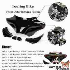 Front Outer Batwing Upper Fairing For Harley touring models Softail Road King