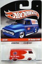 Hot Wheels '66 Dodge A100 Delivery Truck #R3754 New in Pack 2009 Wht/Red 8+ 1:64