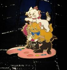 Fantasy Marie Berlioz Toulouse Kitten Painting Aristocats Disney Pin Not Release