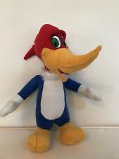 "14"" Woody Woodpecker Plush Stuffed Authentic Licensed Kids Toy Embroidered Eyes"