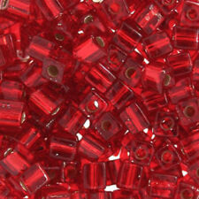 20 Grams 2mm Jewelry Loose Acrylic Rondelle Spacer Seed Beads Red /& Clear Misc