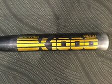 Ssk X1000 Ult31 Aluminum Softball Bat 2.25 Barrel 34 in 31 oz Black Made in Usa