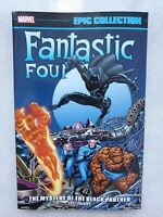 Marvel Epic Collection Fantastic Four Mystery of the Black Panther TPB  New Rare