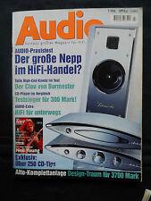 Audio 7/96 Sony CDP xa 2 es, WM ex, Denon pma 925 R, t + a TB 100, Lindemann amp 3,
