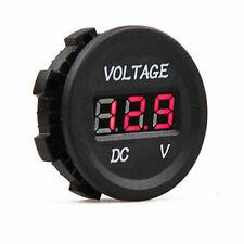 12/24V DC LED VOLTMETER VOLTAGE GAUGE DISPLAY PANEL VOLT METER CAR CAMPER