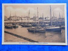 LA TURBALLE  :  Bateaux Sardiniers.