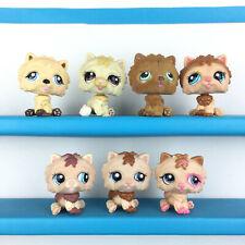 Lot 7 Littlest Pet Shop Chow Chow Dog 662 1058 332 1996 1636 2304 LPS Set Chien