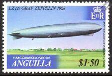 LZ.127 GRAF ZEPPELIN 1928 Flight Mint Stamp (1979 Anguilla)