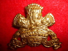 South Africa - Special Services Battalion Cap Badge, WW2 - Armoured