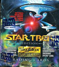 4 BOX LOT 1993 SKYBOX MASTER SERIES STAR TREK EDITION