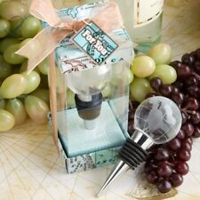 40 Travel Glass Globe Bottle Stoppers Wedding Bridal Shower Birthday Party Favor
