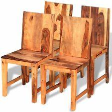 Sets de sillas y mesas de comedor de madera maciza para el hogar ...