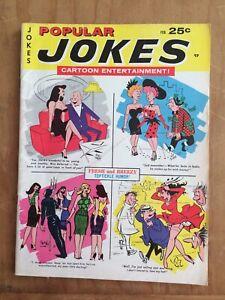 POPULAR JOKES Cartoon Entertainment 2/67 HUMORAMA Vintage Humor Gags