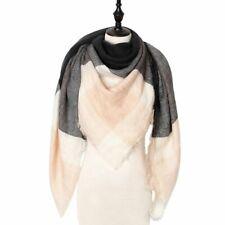 Designer Winter Women Scarf Plaid Warm Cashmere Scarves Shawls Female Luxury New