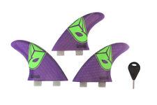 Airush surfing board one set includes 3 FCS fins 1 key kitesurfing kiteboarding-