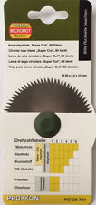 Proxxon Circular saw blade for table fet saw 28731 super cut from RDGTools
