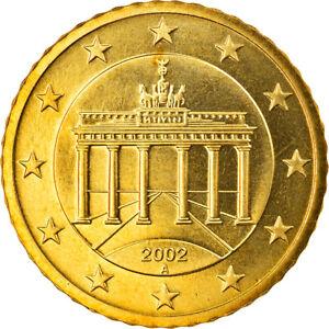[#818792] République fédérale allemande, 50 Euro Cent, 2002, Berlin, FDC, Laiton