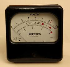 encastrable Voltmètre LCD de tableau 3 1//2 digits Neuf.