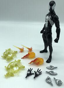 Marvel Legends Black Suit Symbiote Spider-Man | Sandman BAF Wave | BONUS ACCS