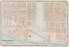 1913, GOAD, MONTREAL, CANADA, SIR GEORGE ETIENNE CARTIER SQUARE, COPY ATLAS MAP