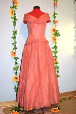 genuine 1950s hieress  beautiful evening gown prom