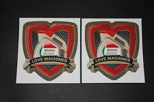 Castrol Oil Oil Sticker Decal Lubricant autocollant Lettering Edge