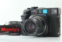 【MINT+3】 Mamiya 7 II Film Camera + N 65mm f/4 L + Strap Hood From Japan 1066