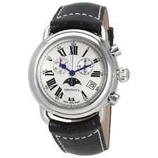 Aerowatch 1942 Chronograph Silver Dial Mens Watch A 84934 AA01