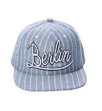 ROBIN RUTH gestreifte Basecap Berlin Original NEU Cap Mütze Kappe gerades Schild