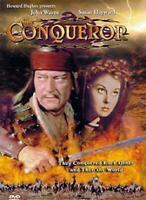 The Conqueror DVD John Wayne Susan Hayward New Sealed PAL Region 0