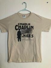 CHARLIE CHAPLIN IN NILES CENTENNIAL CELEBRATION T-SHIRT 2015 SIZE MEDIUM