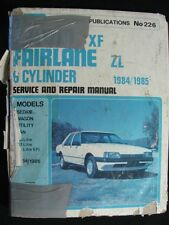 Gregory's Falcon / Fairlane 6 Cyl. 1984-85 Service + Repair Manual No. 226