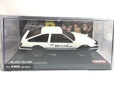 JAPAN KYOSHO MINI Z INITIAL D TOYOTA AE86 TRUENO SPRINTER CAR SHELL AWD SERIES