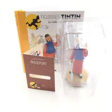 figurine tintin didi est fou n66 livret passeport collection officielle