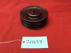 1973-1976 FORD FE 390 F-100 F-250 F-350 3 GROOVE 4 BOLT WATER PUMP PULLEY