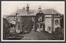 Postcard Shanklin Isle of Wight house named Curragheen RP