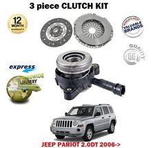 para JEEP PATRIOT 2.0td SUV Mk 2006-12/2009 EMBRAGUE KIT CON CILINDRO RECEPTOR