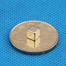 5mm Cube 10 Strong Magnets Neodymium 1.1Kg Pull Rare Earth Block Magnetic COOL